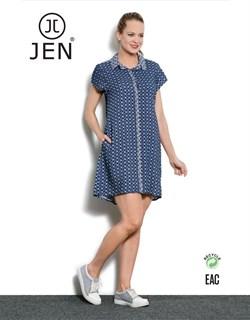 Платье-рубашка - фото 4605