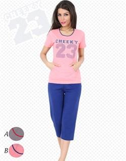 Комплект футболка капри Cheeky - фото 4848