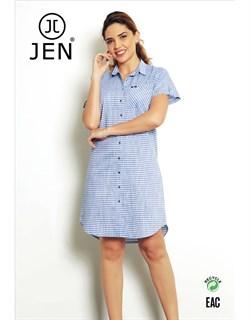 Платье-рубашка - фото 5341