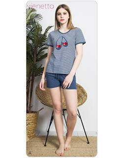 Комплект футболка шорты - фото 6232