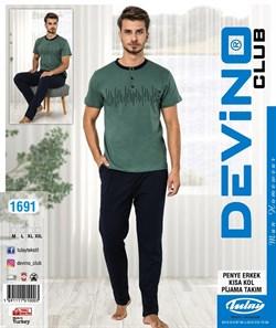 Комплект футболка с брюками - фото 6912