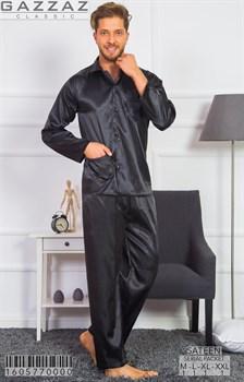 Пижама мужская шёлк - фото 7021