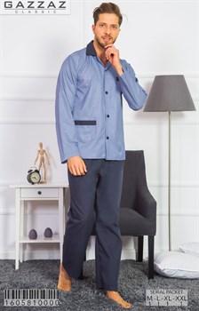 Пижама поплин - фото 7078