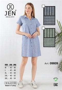 Платье-рубашка - фото 7136