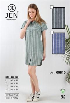 Платье-рубашка - фото 7348