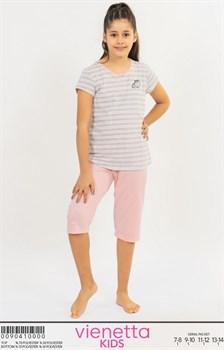 Комплект детский футболка капри - фото 7903