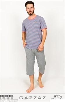 Комплект футболка капри - фото 8002