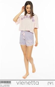 Комплект футболка шорты - фото 8023