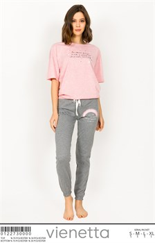 Комплект футболка брюки - фото 8064