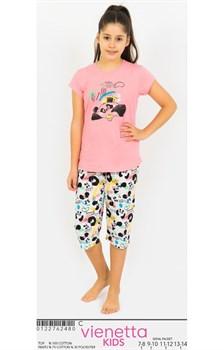 Комплект детский футболка капри - фото 8066