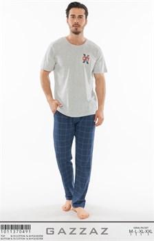 Комплект мужской футболка брюки - фото 8103