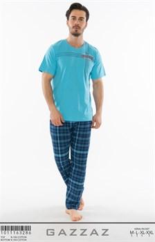 Комплект мужской футболка брюки - фото 8105