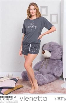 Комплект футболка шорты - фото 8127