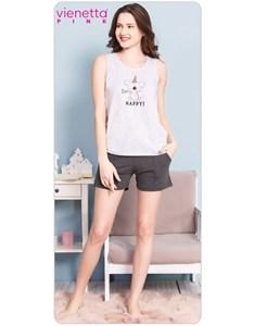 Комплект майка шорты PINK