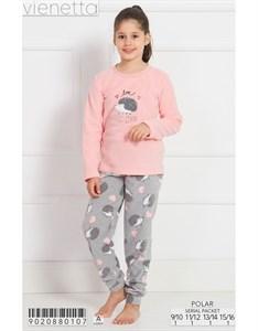 Пижама подростковая флис