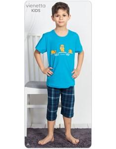 Комплект подростковый футболка с капри