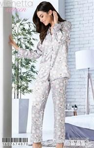 Пижама шелк sateen